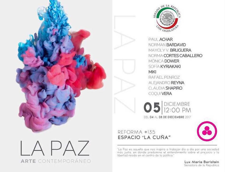 Shapiro, Flyer, 2017/12/05, La Paz