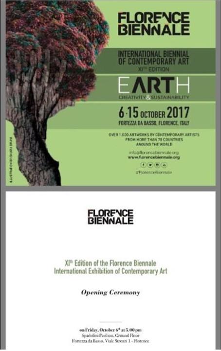 Shapiro, Flyer, 2017/10/06, Bienal Florencia