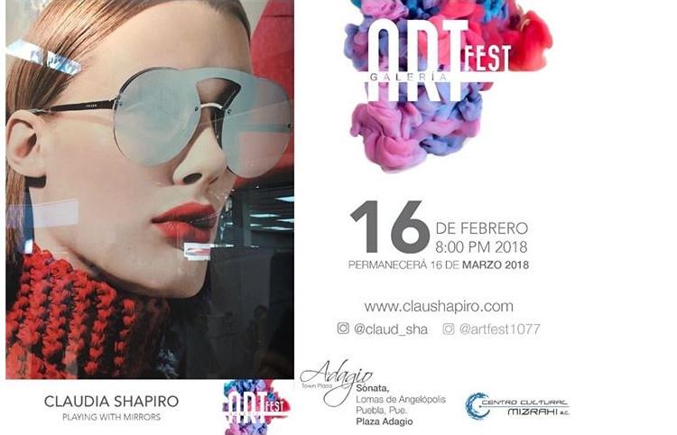 Shapiro, Flyer, 2018/02/16, Art Fest
