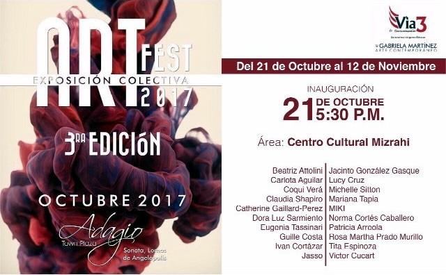Shapiro, Flyer, 2017/10/21, Art Fest. 3a. Edic.