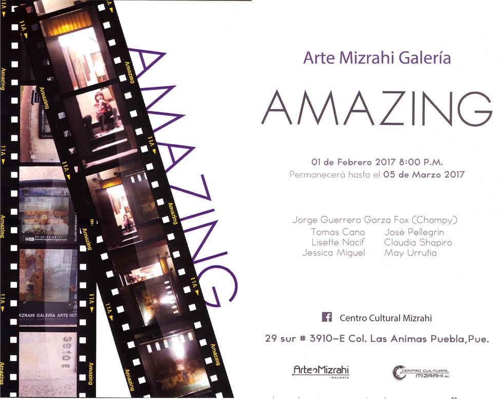 Shapiro, Flyer, 2017/02/01, Amazing, Mizrahi Galería.