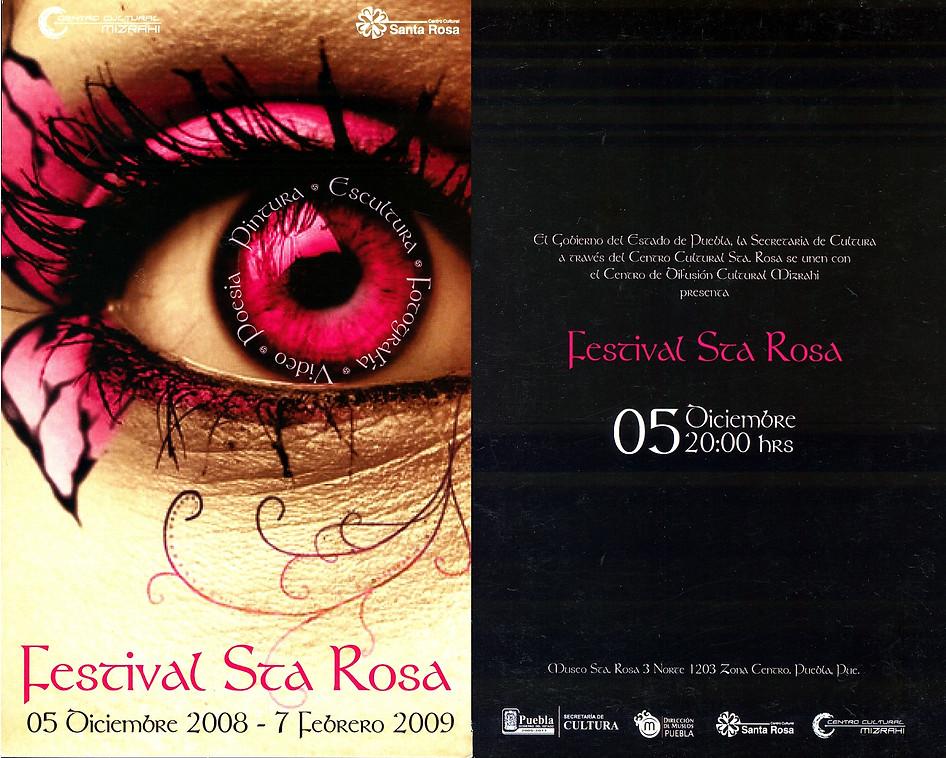 Shapiro, Flyer, 2008/12/05, Festival Sta.Rosa, Pue.