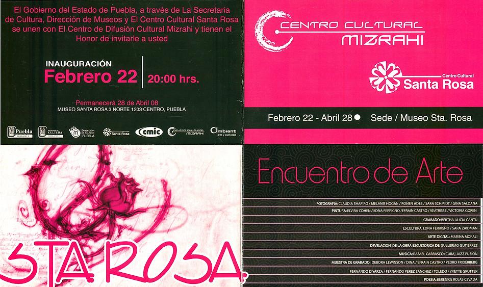 2008/02/22, Encuentro De Arte, CeCultMizrahi.