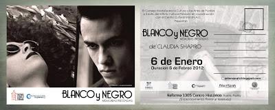 Shapiro, Flyer, 2012/01/06, Blanco & Negro