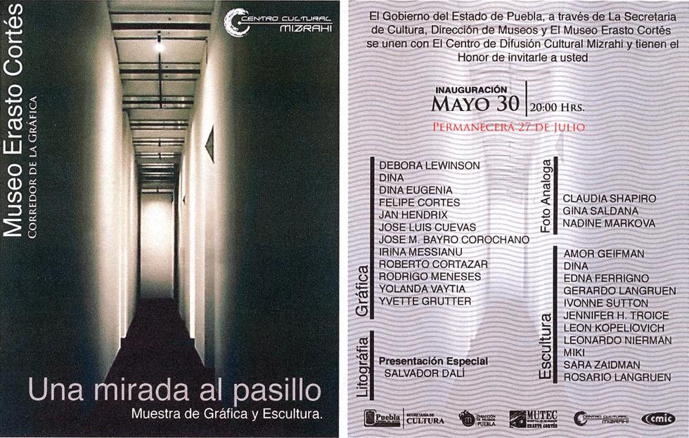 Shapiro, Flyer, 2008/05/30, Una Mirada Al Pasillo