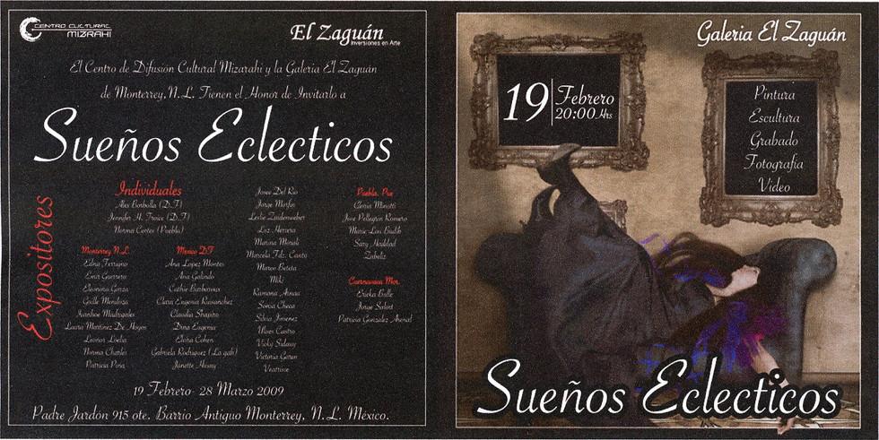 Shapiro, Flyer, 2009/02/19, Sueños Eclecticos