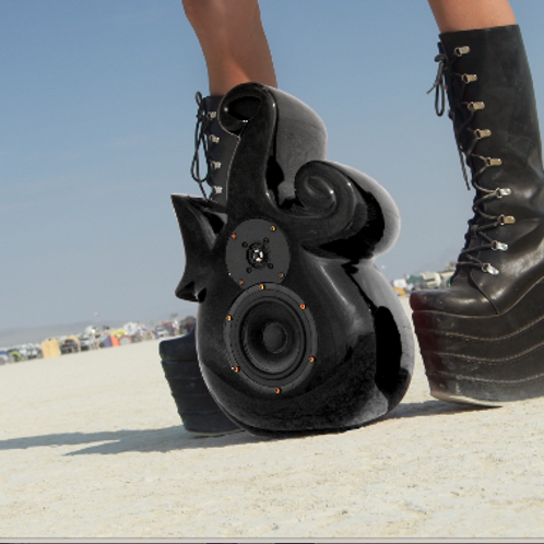 Intervox Loudspeaker Jet Black