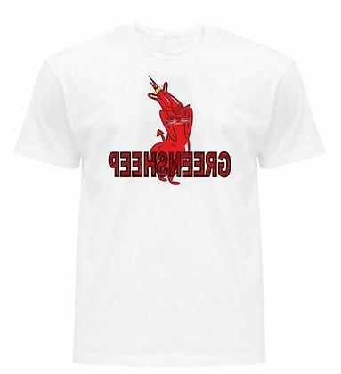 GREENSHEEP T-SEX CARTOON T-SHIRT