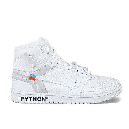 JORDAN 1 PYTHON WHITE