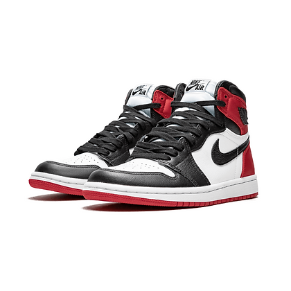 WMNS AIR JORDAN 1 HIGH SATIN BLACK TOE