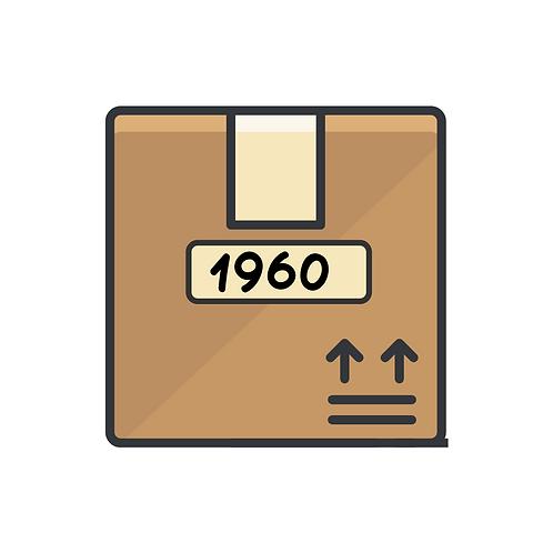 1960's Candy Box