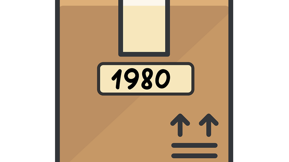1980's Candy Box