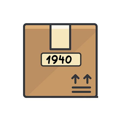 1940's Candy Box