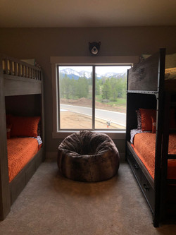 View from bunk room of Winter Park