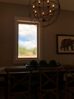 view from dining area of Winter Park