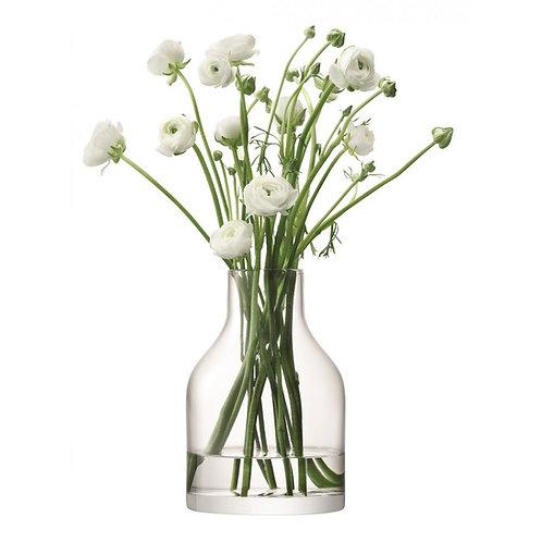 LSA Loft Clear Vase 10cm