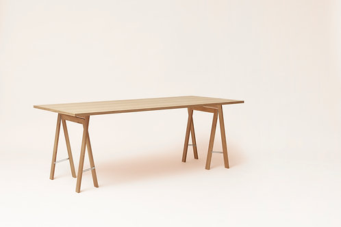 Form and Refine Linear Tabletop - 205 x 88 - White Oak