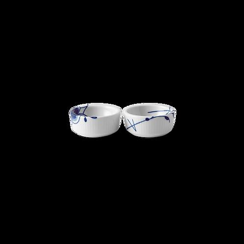 Royal Copenhagen Blue Fluted Mega Bowl - 2 pieces - 3cl