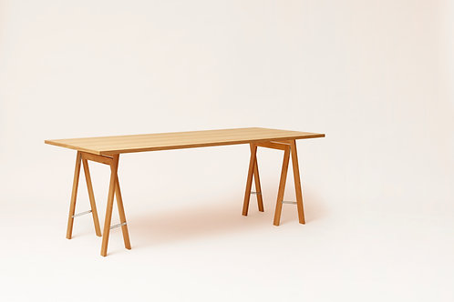 Form and Refine Linear Tabletop - 205 x 88 - Oak