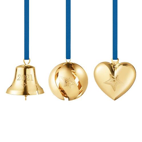 Georg Jensen 2021 Christmas Gift Set - 3 pcs - Gold