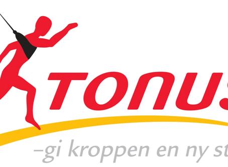 Tonus får ny hjemmeside og online-booking