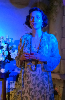 Sally Day as Katherine Mansfield