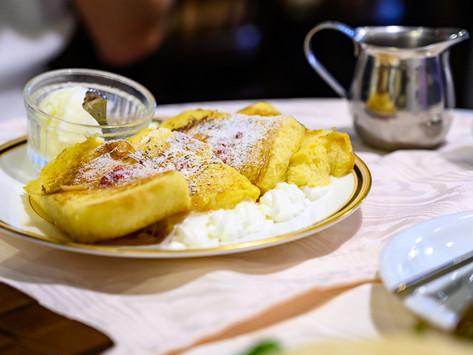 休日のやさしい朝ごはん、フレンチトーストとドリンクペアリング