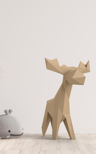 Small Moose Sculpture