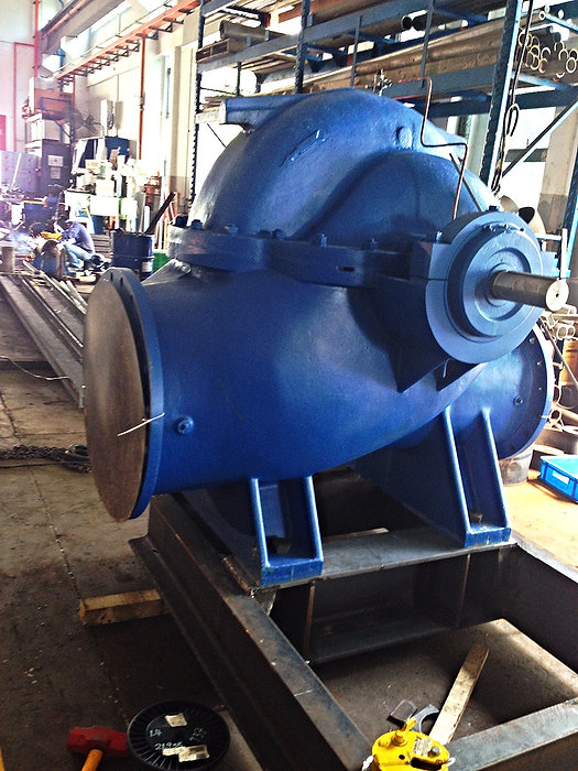 Split Case Pump, Pompe GPA, Water Treatment, Italian pump