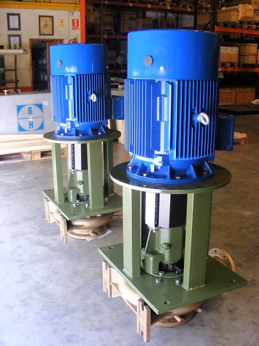 Vertical in line pump, water pump, GPA, Saer, Italian