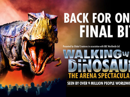 Walking with Dinosaurs Live Tour 2018 - Last Chance to See!