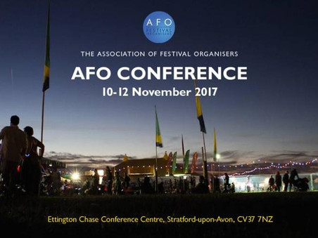 The Association of Festival Organisers Conference 2017