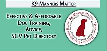 K9 Manners Matter in SCV | Effective & Affordable Dog Training