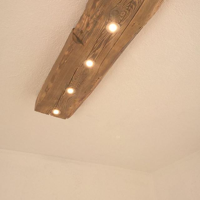 Deckenleuchte Altholz Fichte / LED