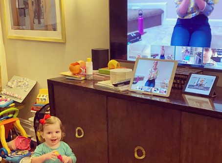Tips and Tricks to Make Virtual Classes with Toddlers A Success