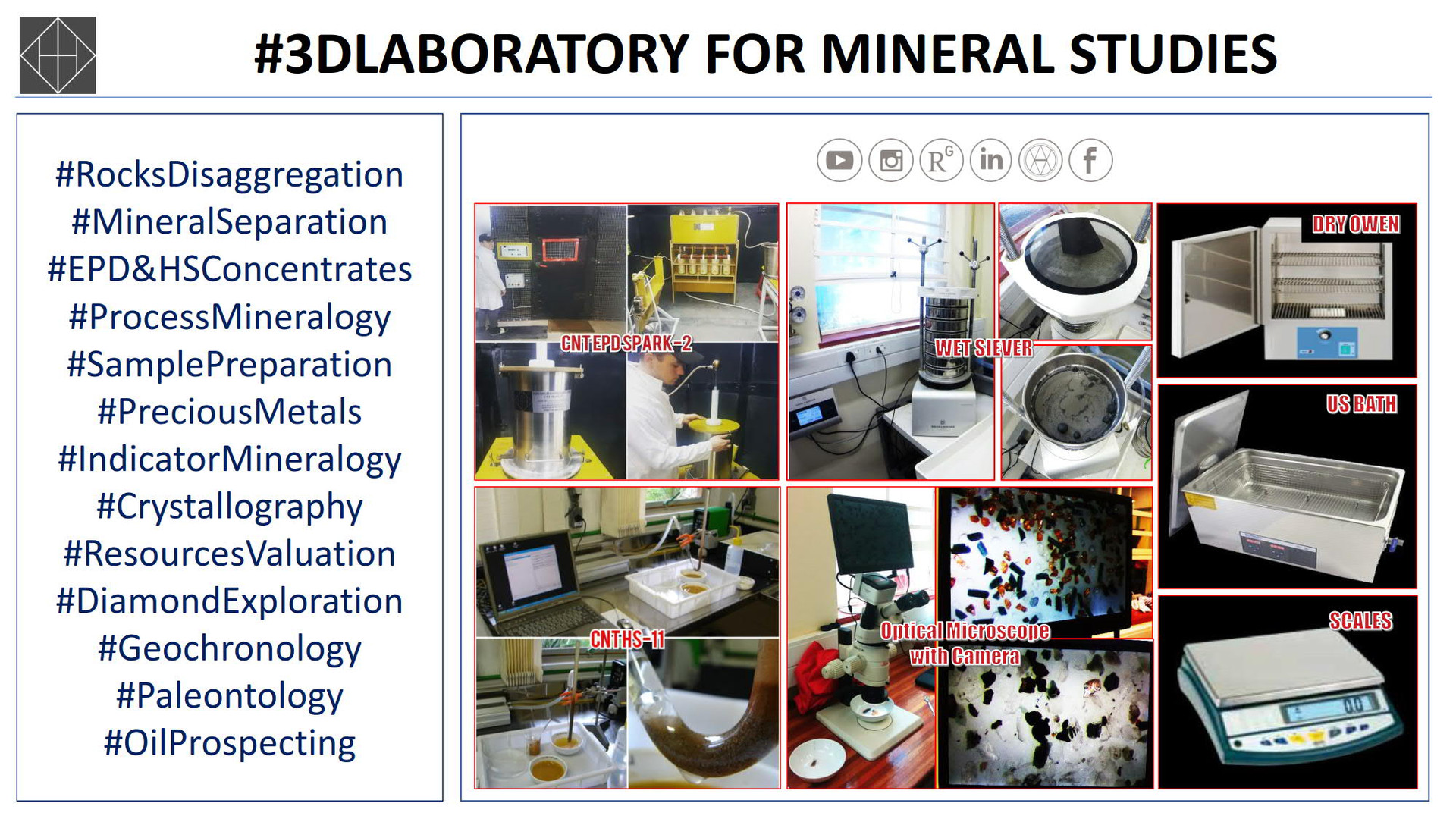 All you need for sample preparation in mineral research