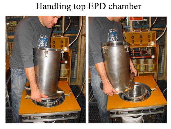 ELECTRIC PULSE DISAGGREGATOR CNT EPD SPARK-2 - LARGEST PROCESS CHAMBER (UP TO 15 KG PER BATCH), EASY