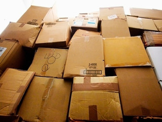 They were just dusty old boxes