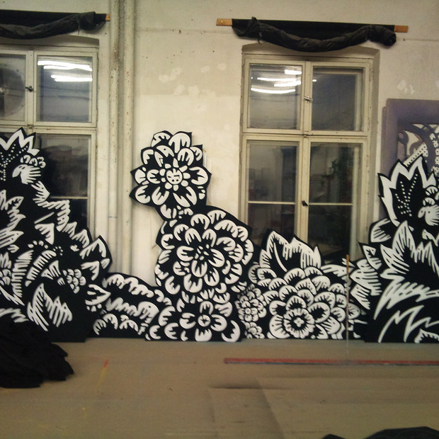 Deckende Malerei