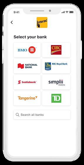 (SPLASH PAGE) interac_bank_select_device