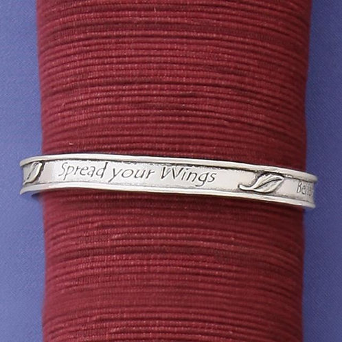 Trust Your Dreams/Spread Your Wings Bangle
