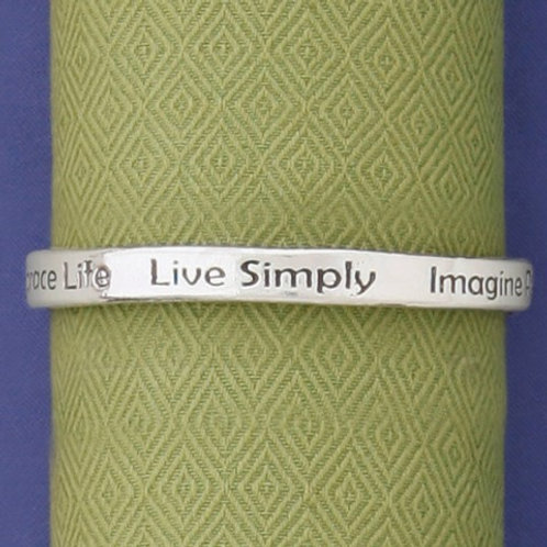 Live Simply Bangle