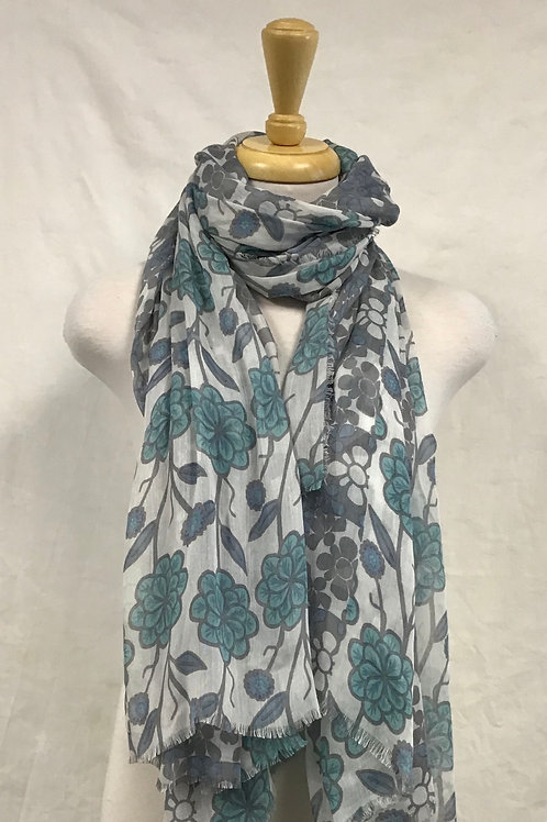 Flower Square Scarf