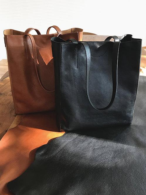 Giovana Vachetta Leather Tote