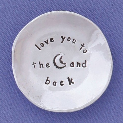 Love You To The Moon Small Charm Bowl