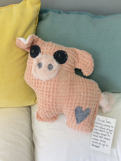 Rose the Pig Stuffie