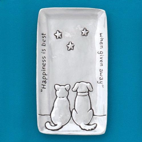 Cat & Dog Small Tray