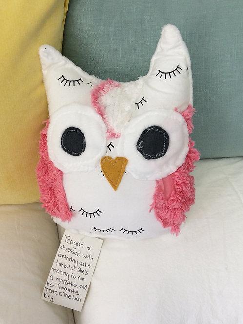 Teagan the Owl Stuffie
