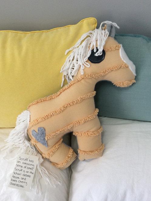 Scruff the Horse Stuffie