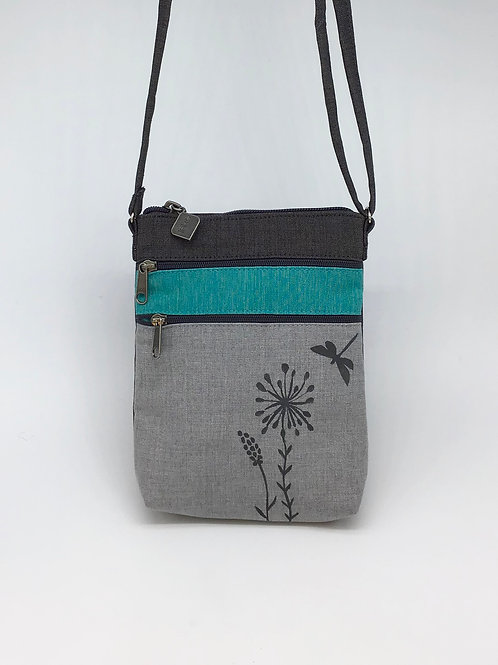 Dragon Fly/Flower Walking Purse